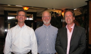 Right: Anthony Dike, Owner Le Relais; Center: my brother; Left wikiwings