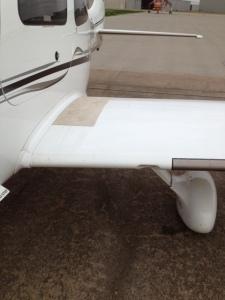 Cirrus SR22 G2 Wing Root