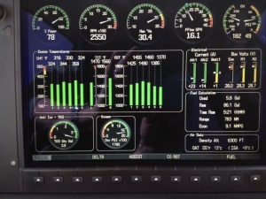 Cirrus SR22 (Garmin Perspective) Anti Ice TKS Gauge