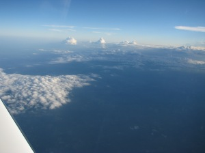 On The Step, Cirrus SR22TN Turbo FL190, flight level 19,000 feet
